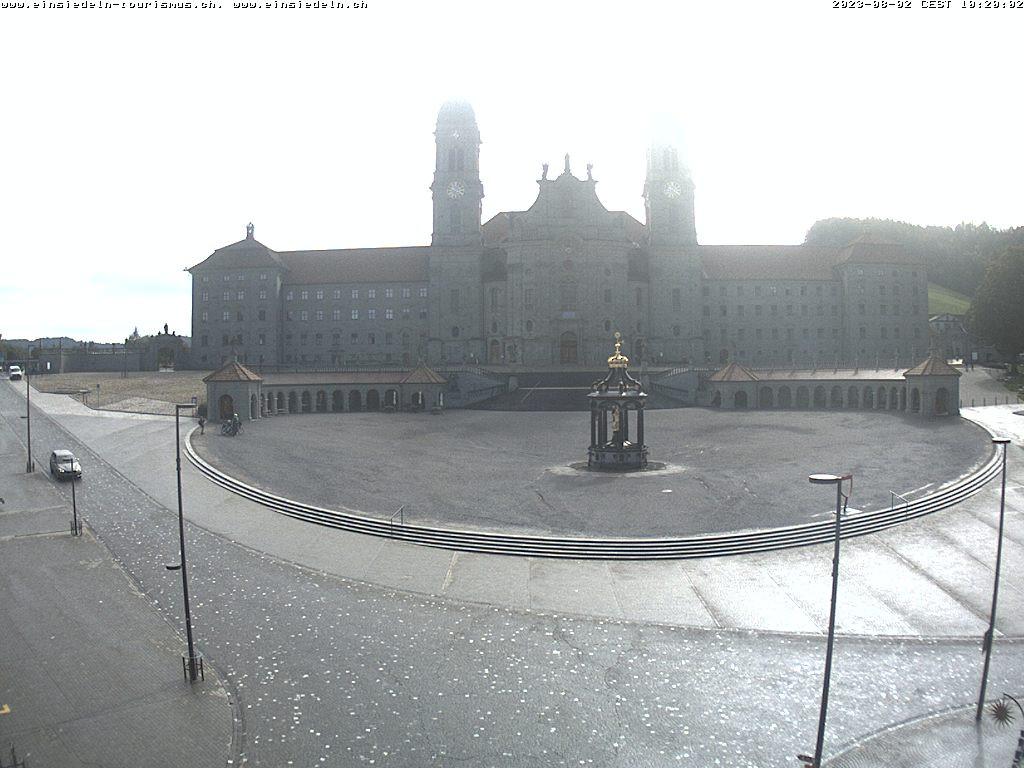 Webcam Sicht Kloster. Falls diese nicht angezeigt wird ist die Webcam inaktiv