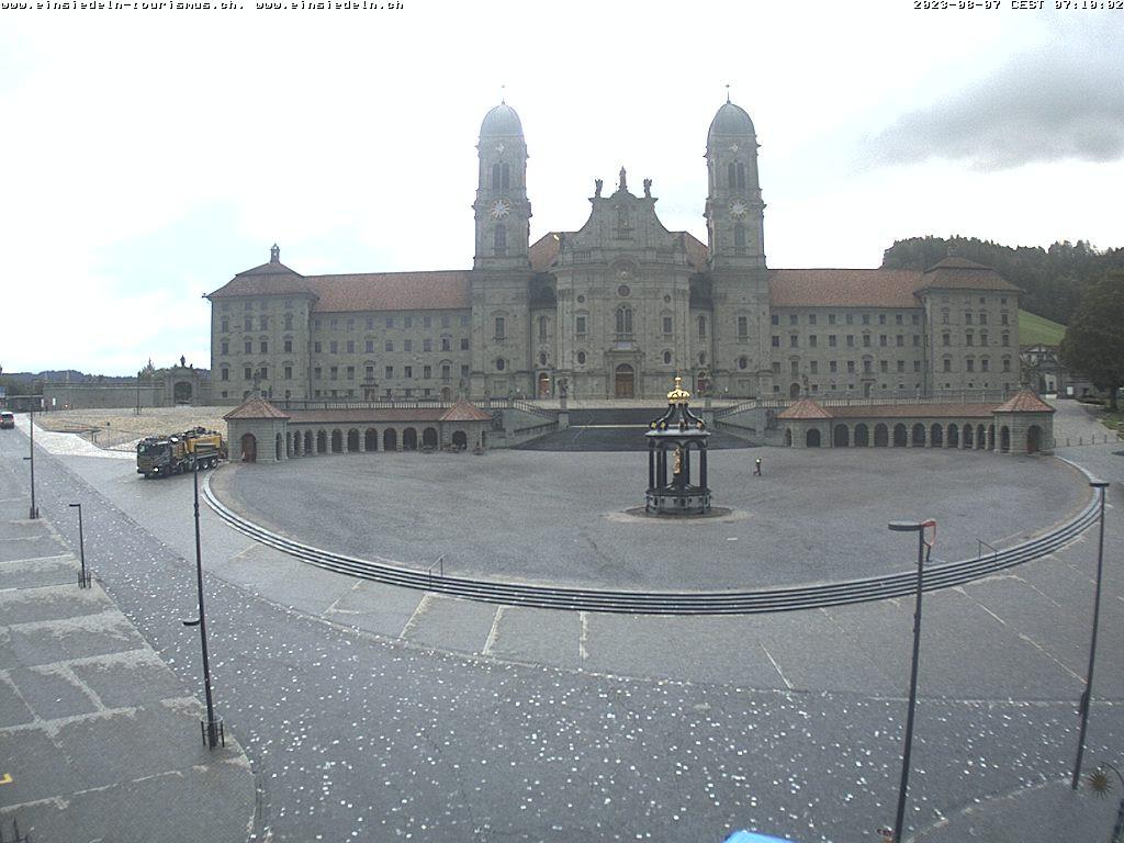 Webcam Kloster Einsiedeln